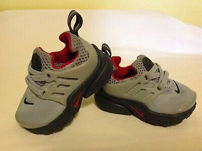 721d2ab6d Boys Nike Little Presto Shoes ~ Toddler Size 4C ~ Wolf Grey   Red ~ 844767