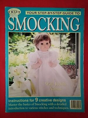 The Australian Country Craft - Step-By-Step Guide To Smocking Magazine