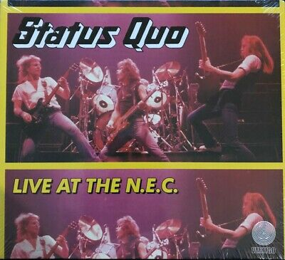 STATUS QUO Live At The NEC (1982)  2CD Deluxe Edition 2017 Rock 80's  New Sealed