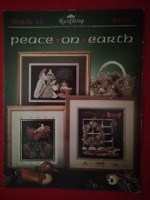 Stoney Creek Collection Cross Stitch Book 11-Peace On Earth-Raindrop Designs
