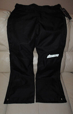 Icon Hella 2 Textile Motorcycle Pants, Size 12, New With Tags
