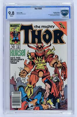 Thor #363 CBCS 9.8 Canadian Edition Not CGC
