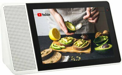 "Lenovo - 8"" Smart Display with Google Assistant - White/Gray (ZA3R0001U)"