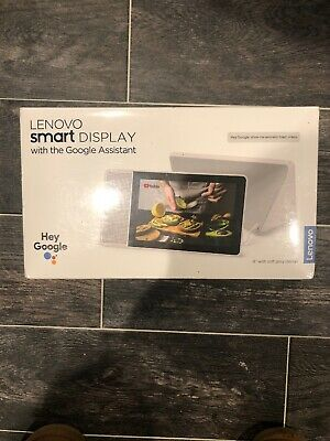"Lenovo Smart Display 8"" with the Google Assistant - Open Box item"