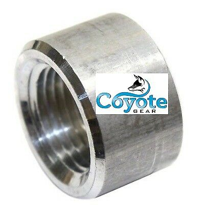 "USA Made 3/4"" Female NPT Aluminum Weld Bung Fitting Billet Coyote Gear CNC"