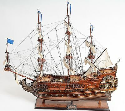 Wooden Model Ship - Soleil Royal Medium - French Navy War Ship