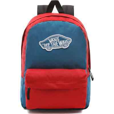 Vans Realm Backpack - Blue Sapphire/Tango Red