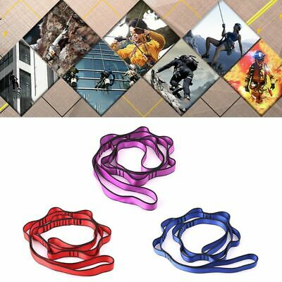 2x Ultra-light Yoga Daisy Chain Rope Sling Ring Bandlet Cord Strap 78.7inch