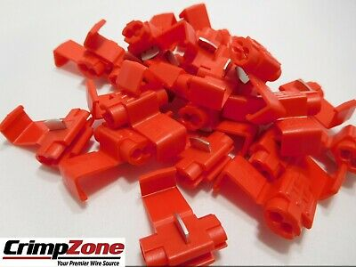 22-16 Instant Tap Connector (With Stop) For 22-16 AWG Wire  25 PCS Made In USA