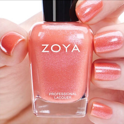 ZOYA #ZP685 PEPPER brick red nail polish lacquer~CASHMERES