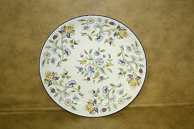 Minton Haddon Hall Blue rim pasta Serving Bowl 11 inch Bone China England S782