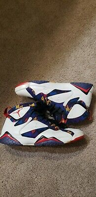 "61ca7fbefc9d22 AIR JORDAN 7 VII Nothing But Net ""Ugly Sweater"" Retro Size 12 mens ..."