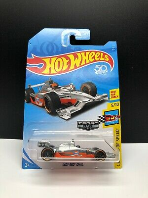 Hot Wheels 50th Zamac 2018 Gulf Indy 500' Oval Legends Of Speed 5/10 VHTF NEW
