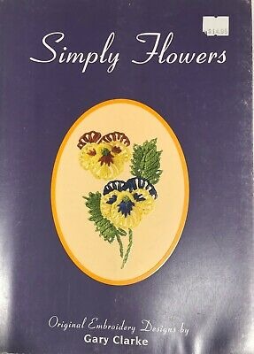 Simply Flowers Embroidery Book