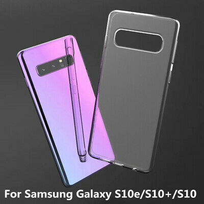 Luxury TPU Case Shockproof Protector Cover For Samsung Galaxy S10e/S10+/S10 S9