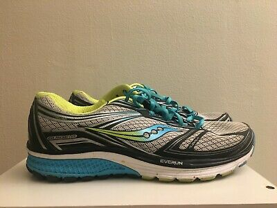 WOMENS SAUCONY EVERUN Guide 9 Running Shoes Size 10 US size (S10297 ... 50752a1a56