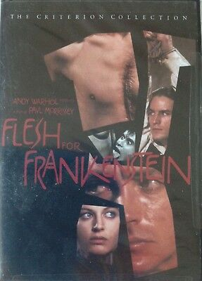 Flesh for Frankenstein ( DVD, 1998, Criterion Collection ) Special Edition