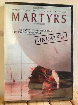 Martyrs Unrated (DVD, 2009) RARE /FACTORY SEALED /