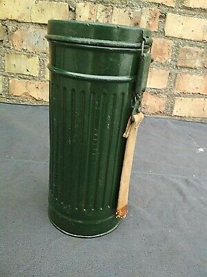 Gas Mask Container Box Canister German WW2 Original Military