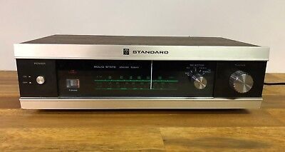 Vintage Standard TU-108E Solid State Stereo Radio Tuner Made In Japan Rare