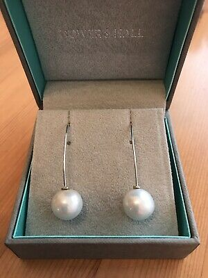 6de79af97 Dower And Hall Pealicious Edison Earrings 9ct White Gold With White Pearls  BNIB