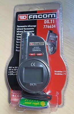 Facom DX.T1 776634 Laser Sighted Infrared Non-Contact Thermometer