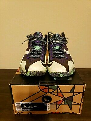 4221bd66a6ce5 NIKE LEBRON 11 All Star Gumbo Mens Size 8 -  26.00