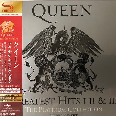 Greatest Hits: I II & III: The Platinum Collection by Queen (SHM-3CD),2011 Unive