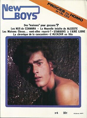 NEW BOYS 1979 Gay homosexualité RARE TBE L'Alcazar Histoire maison close LGBT