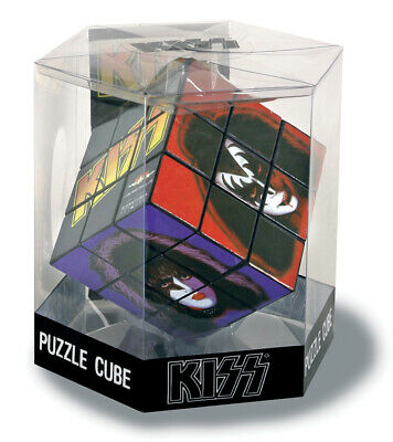 Kiss:rubik's Cube Puzzle Solo Faces (New+Sealed)