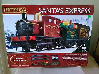 Hornby R1185 Santa Express train set BNIB