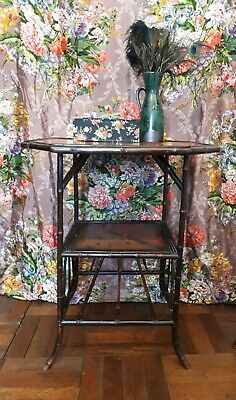 19th Century Victorian Bamboo table
