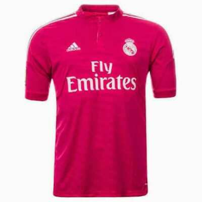 a953be0f7d091 MAILLOT REAL MADRID CF (G.Bale N°11) Extérieur (rose) 2014/2015 ...