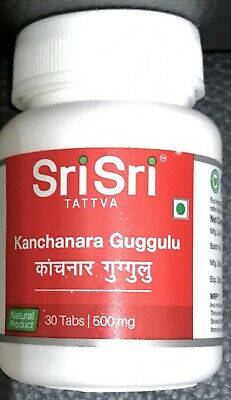 KANCHNAR GUGGULU FOR Thyroid & Cysts 80 Tablet Baidyanath - £13 53