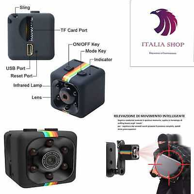 Sq11 Action Cam Hd Mini Spy Micro Camera Spia Telecamera Sport Full Gopro Sd Mic
