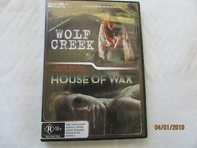 2 DVD Horror Pack - Wolf Creek & House of Wax