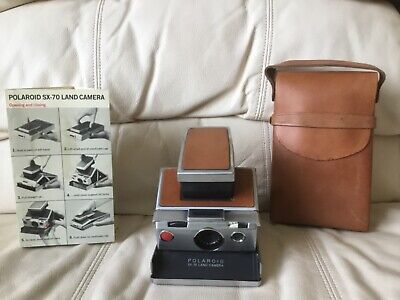 Polaroid SX-70 Instant Camera-Fully Tested&Working-Great-Ships Same Day