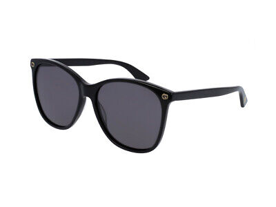 Sunglasses GUCCI ORIGINAL GG0024S black gray 001