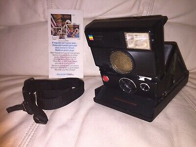 Polaroid SLR 680 AutoFocus Instant Camera-Tested & Working-Very Nice-ShipsToday