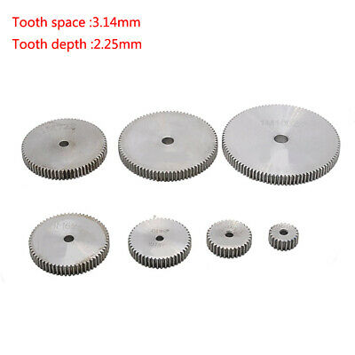 1 Mod 12T-150T 45# Steel Spur Gear Thickness 10mm Motor Pinion Transmission Gear