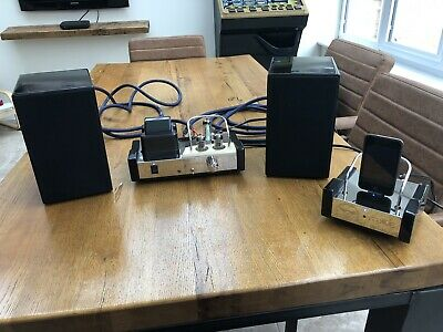 Fatman iTube valve amp and speakers And Dock
