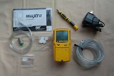 BW Technologies Gas Alert Max XT-II Gas Detector, Great Condition, Calibrated.