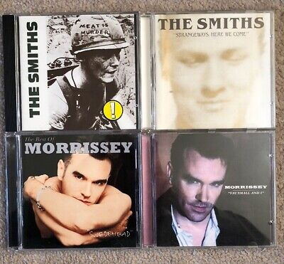 The Smiths Morrissey CD Collection Meat Is Murder Strangeways Vauxhall Best Of