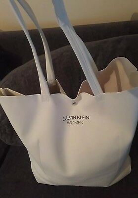8c5f8e149ad7 Brand New 100% Genuine Dkny Large Beach Tote Shopper Bag White With Logo.  £18.70 Buy It Now 26d 18h. See Details. Calvin Klein Women White with Eye  Design ...