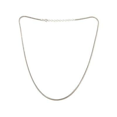 "Ottoman Silver Jewelry Collection 18"" Foxtail Chain Necklace"