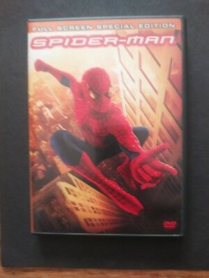 Marvel's Spider-Man (2002 DVD Movie) 2-Disc Full Screen Special Edition