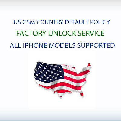 Us Gsm Country & Default Policy Fabrik Iphone 7/7 8/8 X/Xs / XR