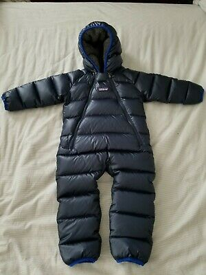 97ff949cc Patagonia Hi Loft Down Baby Bunting. Navy Blue. Size 18 mos. Excellent  Condition