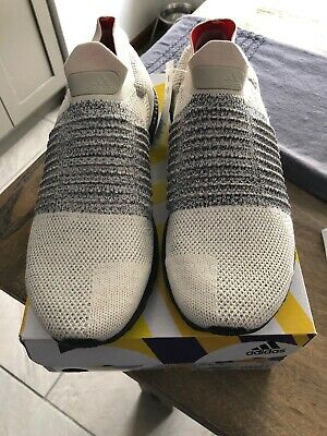 e37a7e41dce32 Adidas UltraBoost Laceless (Brown White Carbon) Men s Shoes CM8263 New In  Box