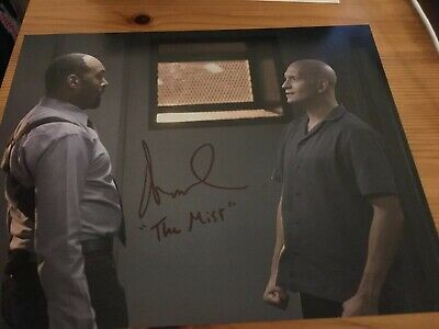 Anthony Carrigan The Mist The Flash 8x10 Signed Autograph